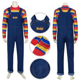 Buddi Costume Child's Play Cosplay Chucky For Halloween And Christmas
