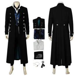 Gellert Grindelwald Costume Fantastic Beasts:The Crimes of Grindelwald Cosplay