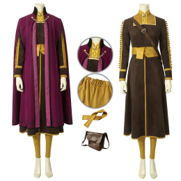 Anna Costume Frozen 2 Cosplay Christmas Outfit