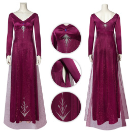 Elsa Costume Frozen 2 Cosplay For Halloween And Christmas