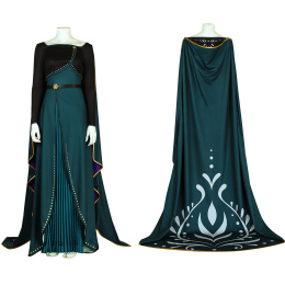 Anna Costume Frozen 2 Cosplay High Quality Dress