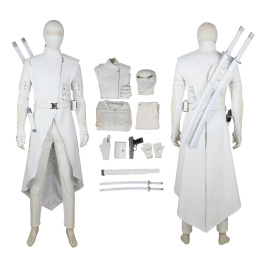 Shadow Storm Costume G.I.Joe: Retaliation Cosplay Paladin White Knight Suit