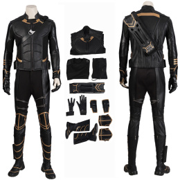 Hawkeye Costume Avengers Endgame Cosplay Clint Barton Full Set Deluxe Version
