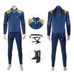 Captain Costume Star Trek Beyond Cosplay Kirk Full Set Uniform