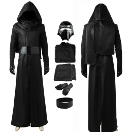 Kylo Ren Costume Star Wars The Force Awakens Cosplay Halloween Party Outfit