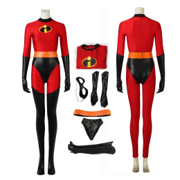 Elastigirl Costume The Incredibles 2 Cosplay Helen Parr Full Set Christmas Jumpsuits