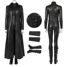 Vampire Death Dealer Costume Underworld: Blood Wars Cosplay Selene Full Set Halloween Suit