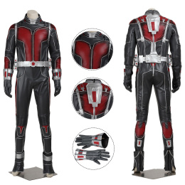 Scott Lang Costume Ant-Man Cosplay High Quality Full Set