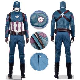 Captain America Costume Captain America: Civil War Cosplay Steve Rogers Full Set