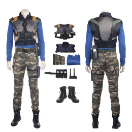 Erik Killmonger Costume Black Panther Cosplay High Quality Full Set
