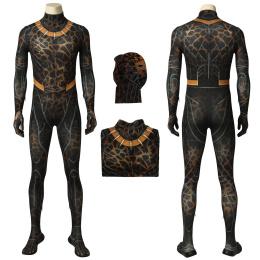 Erik Killmonger Costume Black Panther Cosplay Full Set Custom Made