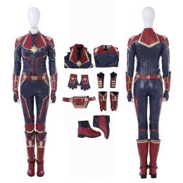 Captain Marvel Costume Captain Marvel Cosplay Carol Danvers Full Set
