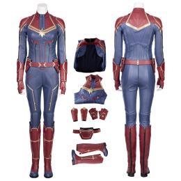 Captain Marvel Costume Captain Marvel Cosplay Carol Danvers High Quality Full Set