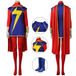 Ms.Marvel Costume Marvel Comics Captain Marvel Cosplay Kamala Khan Full Set