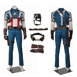 Steve Rogers Costume Captain America: The First Avenger Cosplay
