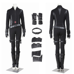 Black Widow Costume Captain America: The Winter Soldier Cosplay Natasha Romanoff Full Set