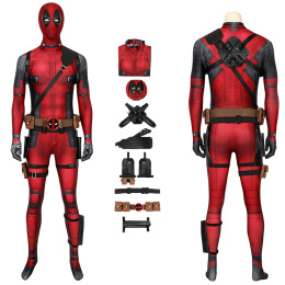 Deadpool Costume Deadpool Cosplay Wade Wilson Jumpsuit