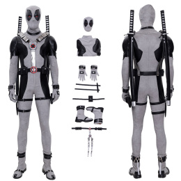 Deadpool Costume X- Force Cosplay Halloween Christmas Outfit