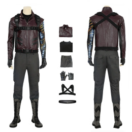Winter Soldier Costume The Falcon And The Winter Soldier Cosplay Bucky Barnes Full Set