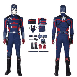 Captain America Costume The Falcon And The Winter Soldier Cosplay Steve Rogers Full Set