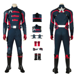 Captain America U.S. Agent Costume The Falcon And The Winter Soldier Cosplay