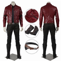 Star-Lord Costume Guardians of the Galaxy Cosplay Peter Jason Quill Full Set