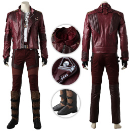 Star-Lord Costume Guardians of the Galaxy Vol. 2 Cosplay Peter Jason Quill Full Set