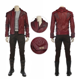 Star Lord Costume Guardians of the Galaxy Vol. 2 Cosplay Peter Quill Full Set Jacket