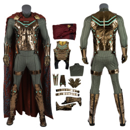 Mysterio Costume Spider-Man Far From Home Cosplay Quentin Beck Man Deluxe Version Full Set