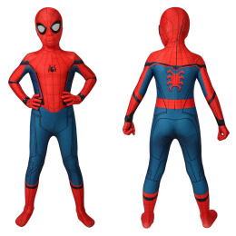 Spider-Man Costume Spider-Man: Far From Home Cosplay Peter Parker Full Set For Kids