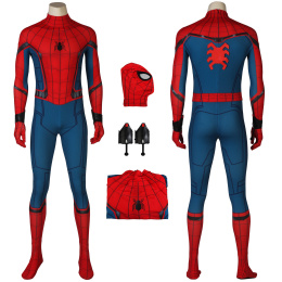 Spider-Man Costume Spider-Man: Homecoming Cosplay Peter Parker Full Set 3D Shade Spandex Fullbody For Halloween