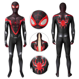 PS5 Spider-Man Costume Spider-Man: Miles Morales Cosplay Jumpsuit