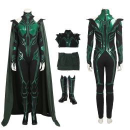 Hela Costume Thor Ragnarok / Thor 3 Cosplay Fancy Party Dress Full Set