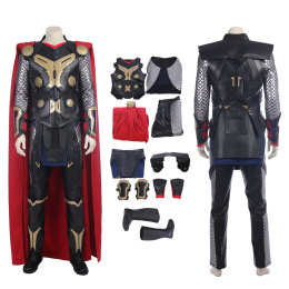 Thor Costume Thor: The Dark World Cosplay Odinson Full Set Deluxe Outfit