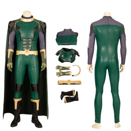 Pariah Costume Crisis on Infinite Earths Cosplay Kell Mossa Full Set