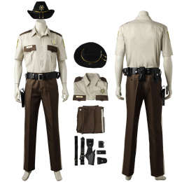 Rick Grimes Costume The Walking Dead Season 1 Cosplay