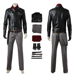 Negan Costume The Walking Dead Season 8 Cosplay