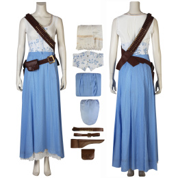 Dolores Abernathy Costume Westworld Season 2 Cosplay Rose Red Outfit