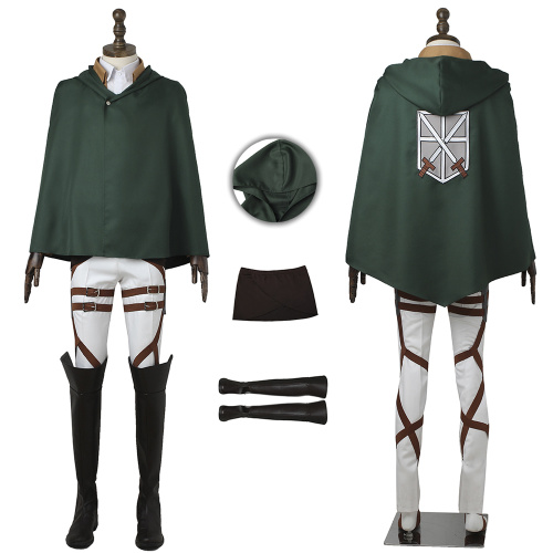 Training Corps Costume Attack on Titan Cosplay High Quality Full Set