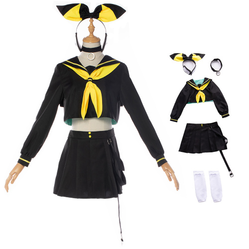 Kagamine Rin Costume Vocaloid Cosplay For Christmas