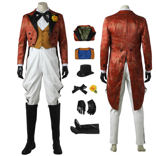The Joker Costume Gotham Cosplay Jerome Valeska Full Set Halloween