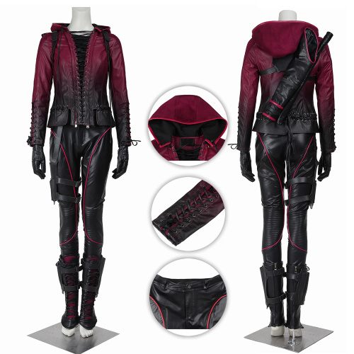 Speedy Costume Arrow Season 4 Cosplay Thea Queen Full Set Custom Made