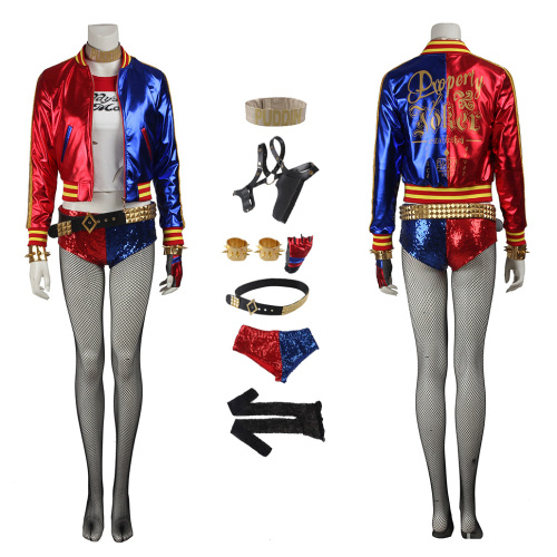 Harley Quinn Costume Suicide Squad Cosplay For Halloween
