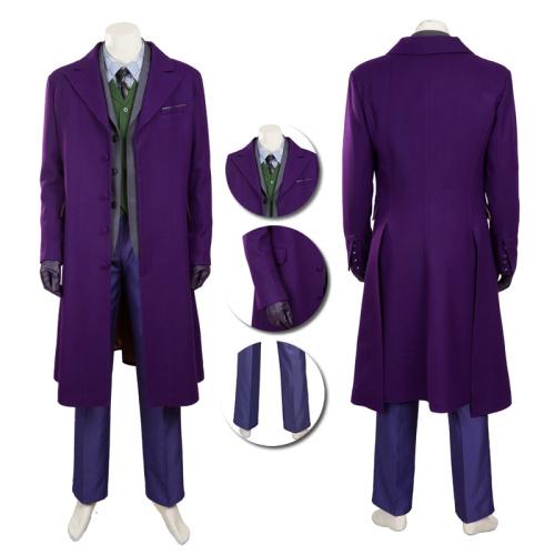 Joker Costume The Dark Knight Cosplay Custom Made