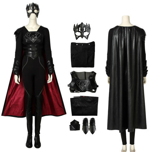 Reign Samantha Arias Costume Supergirl Season 3 Cosplay Outfit Full Set