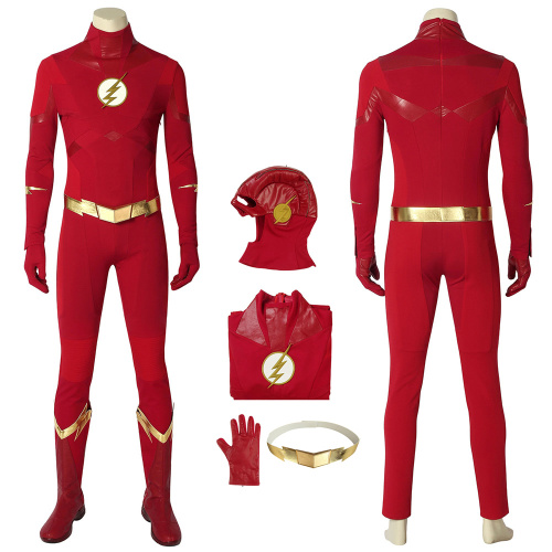 The Flash Costume The Flash Season 5 Cosplay Barry Allen Full Set Halloween