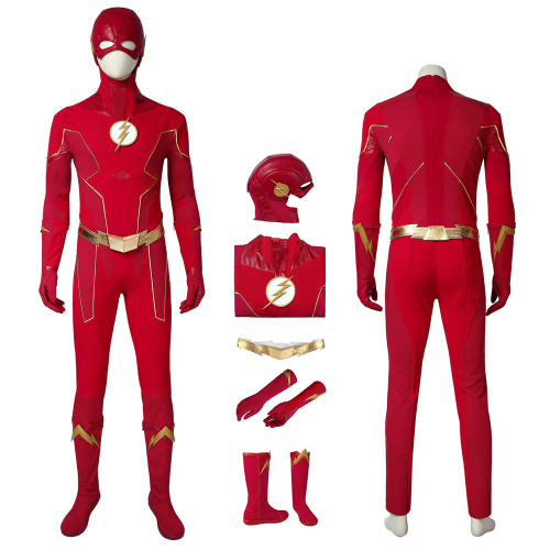 The Flash Costume The Flash Season 6 Cosplay Barry Allen Full Set