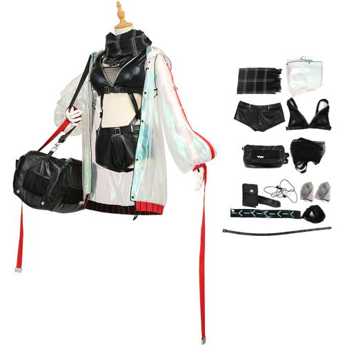 Schwarz Costume Arknights Cosplay Agent Cool Shooter Sniper Women
