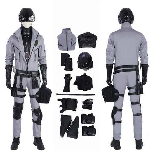 Cypunk Costume Cyberpunk 2077 Cosplay Full Set Games Halloween