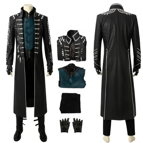 Vergil Costume Devil May Cry 5 Cosplay Deluxe Version Full Set